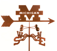 Michigan University Weathervane