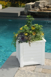 "Lakeland Square Patio Planter 20"" x 20"""
