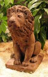 Male Lion Statuary