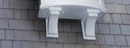 Nantucket Decorative Window Brackets (2 Pack)
