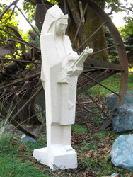 "Frank Lloyd Wright Nakomis Sculpture 36""H"