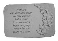 Nothing Can Ever Take...w/Ivy Memorial Stone