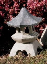 "Pagoda Lantern Statue 10.5""H"