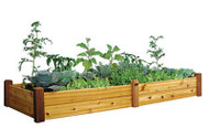 Raised Garden Bed 34x95x13 with Safe Finish