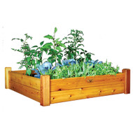 Raised Garden Bed 48x48x13 With Safe Finish
