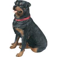 """Rottweiler Statue 29""""H"""