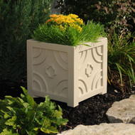 "Savannah Square Patio Planter 16""x16"""