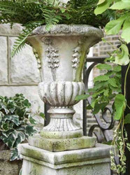 "Six Sided Urn 18""H"