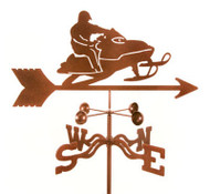 Snowmobile Weathervane