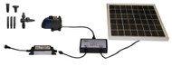 Solar Hybrid Powered 280GPH Garden Pump