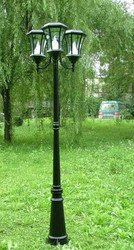 Solar Lamp Post (Three Lamps)