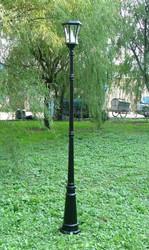 "Solar Lamp Post (88""H)"