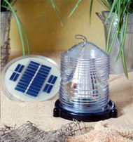 Solar Powered Fresnel Blinking Beacon
