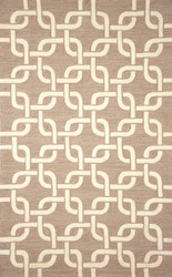 Spello Chains Outdoor Rug (Natural)