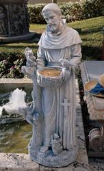 """St Francis Nurturer Statue (37""""H)"""