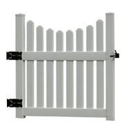 Cottage Picket Arbor Gate (Gate Only)