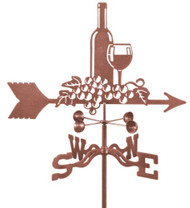 Wine And Grapes Weathervane