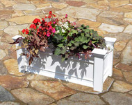 Windsor Long Vinyl Planter Box
