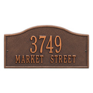 Rolling Hills Address Plaque 15L x 8H (2 Lines)