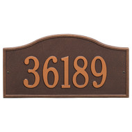 Rolling Hills Address Plaque 18Lx9H (1 Line)