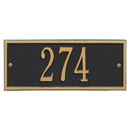 Hartford Address Plaque 11Lx4H (1 Line)