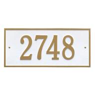 Hartford Address Plaque 16L x 7.25H (1Line)