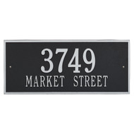 Hartford Address Plaque 23Lx10H (2 Lines)