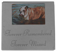 Forever Remembered...Personalized Photo Memorial Marker