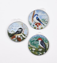 Bird Ornament Set of 3