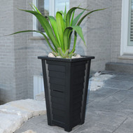 "Mayne Lakeland Tall Patio Planter 28""H"