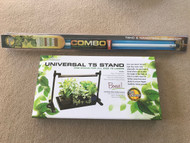 Sunblaster 2' Universal T5 Stand and Light Kit Combo