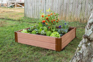 "Frame It All Raised Garden Bed (4' x 4' x 11"")"