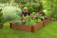 "Frame It All Raised Garden Bed (4' x 8' x 11"")"