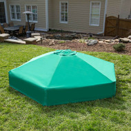 Collapsible Hexagon Sandbox Cover 7' x  8' x 13.5""