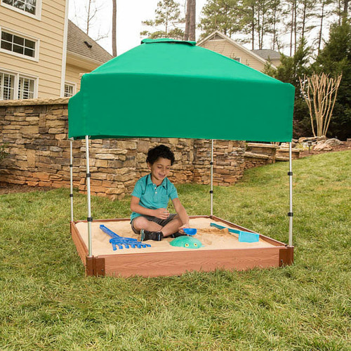 Set up as a Canopy (Sandbox NOT Included)