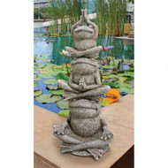 "Tower of Frog Power Statue 24""H"