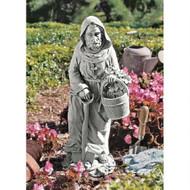 "St. Fiacre, The Gardener's Patron Statue 16""H"