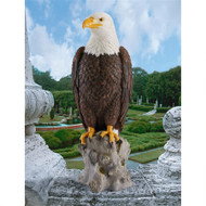 "Majestic Mountain Eagle Garden Statue 22""H"
