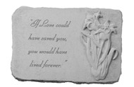 If Love Could Have...w/Iris Memorial Stone