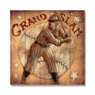 "Grand Slam Wall Art 17"" x 17"""