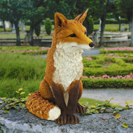 "Simon The Fox Garden Statue 18""H"