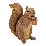 "Chomper the Woodland Squirrel Statue 6.5""H"