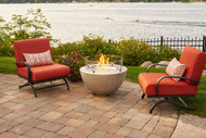 Lifestyle Photo Shown with flames and Optional Glass Guard $236.55
