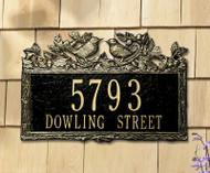 "Woodland Wren Standard Address Plaque 15.5""W x 10""H (2 Lines)"
