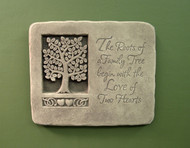 "Roots of Love Garden Plaque 8.5""W"