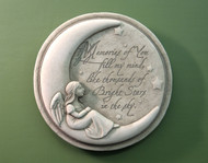 "Memories of You...Garden Plaque 9""Diameter"