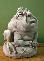 """Mr. Wrinkles Garden Statue 6.5""""H"""