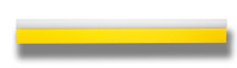 "18.5"" Yellow Turbo Squeegee - Tube Handle & Blade"