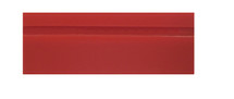"6"" Red Turbo Squeegee - Blade Only"