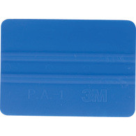 "4"" 3M Bump Card Squeegee - Blue"